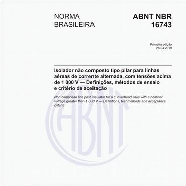 NBR16743 de 04/2019