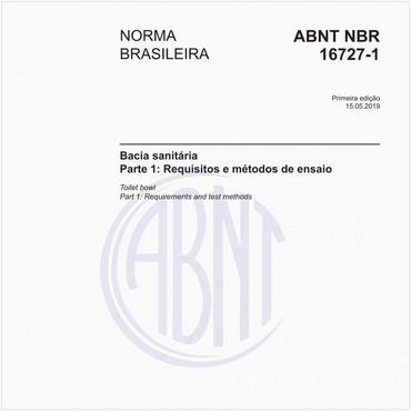 NBR16727-1 de 05/2019