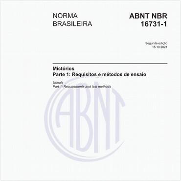 NBR16731-1 de 05/2019