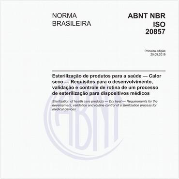 NBRISO20857 de 05/2019