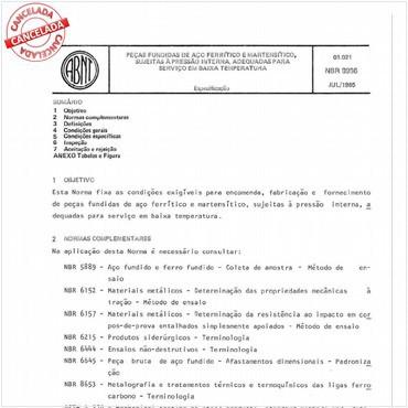 NBR8966 de 07/1985