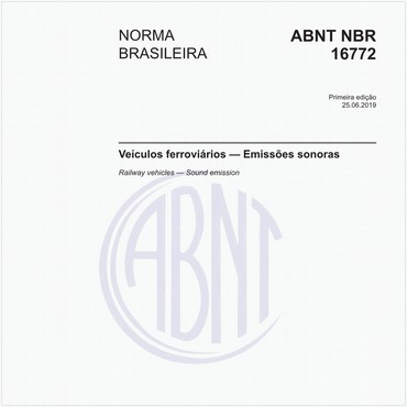 NBR16772 de 06/2019