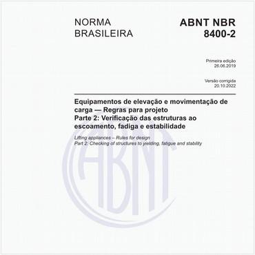 NBR8400-2 de 06/2019