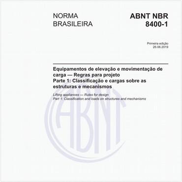 NBR8400-1 de 06/2019
