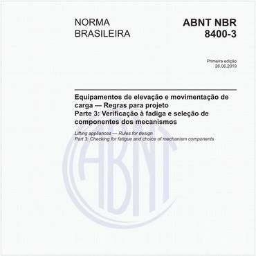 NBR8400-3 de 06/2019