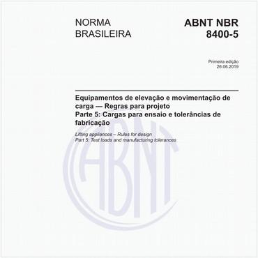 NBR8400-5 de 06/2019