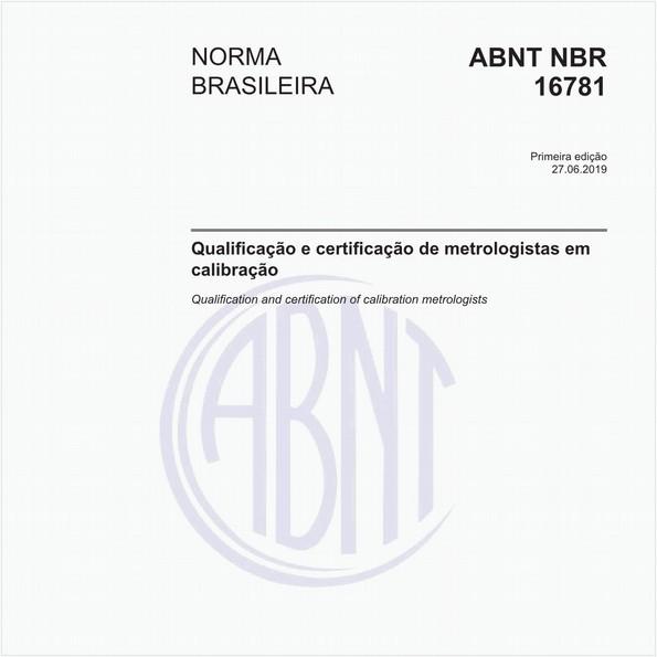 Qualificação e certificação de metrologistas em calibração