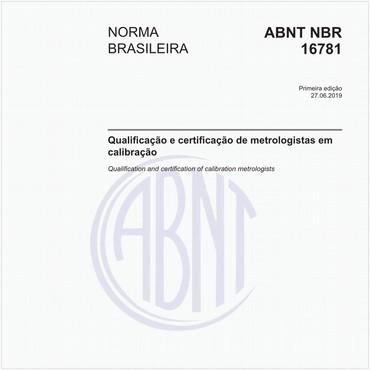 NBR16781 de 06/2019
