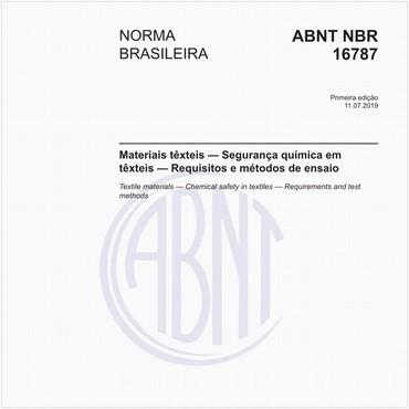 NBR16787 de 07/2019