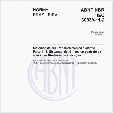 NBRIEC60839-11-2 de 08/2019