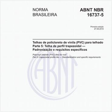 NBR16737-5 de 08/2019