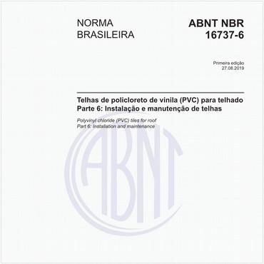 NBR16737-6 de 08/2019