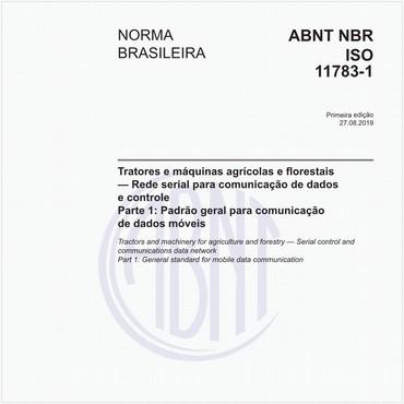 NBRISO11783-1 de 08/2019