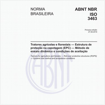NBRISO3463 de 08/2019