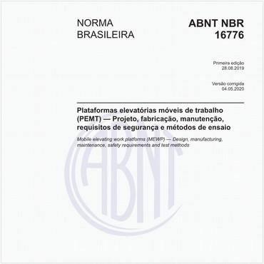 NBR16776 de 08/2019