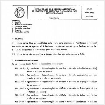 NBR8965 de 07/1985