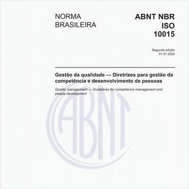 NBRISO10015 - COMENTADA de 07/2020