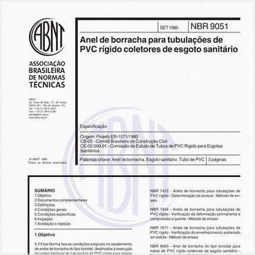 NBR9051 de 09/1985