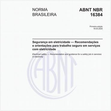 NBR16384 de 03/2020