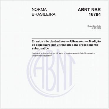 NBR16794 de 03/2020