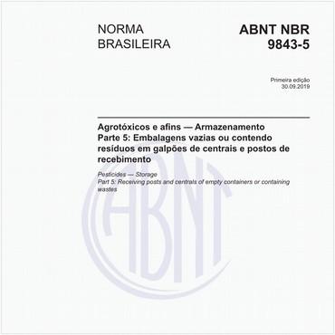 NBR9843-5 de 09/2019