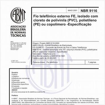 NBR9116 de 05/2001
