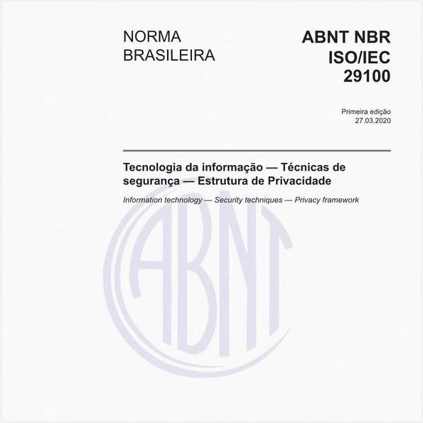 Tecnologia da informação — Técnicas de segurança — Estrutura de Privacidade