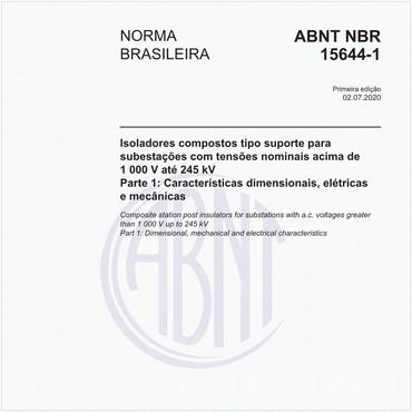 NBR15644-1 de 07/2020