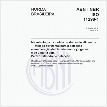 NBRISO11290-1 de 04/2020