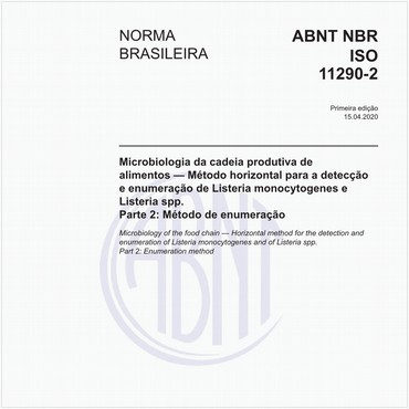 NBRISO11290-2 de 04/2020