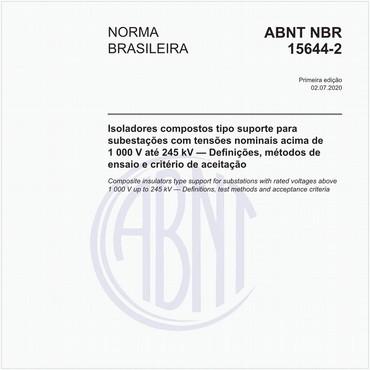 NBR15644-2 de 07/2020