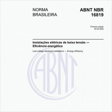 NBR16819 de 04/2020