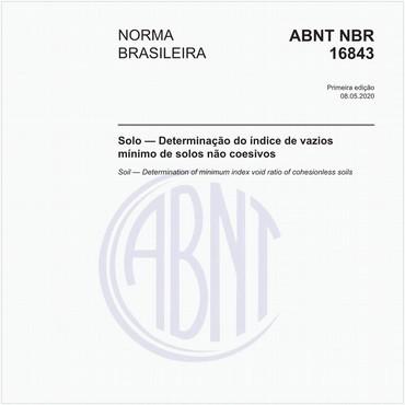 NBR16843 de 05/2020