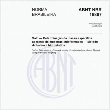 NBR16867 de 05/2020