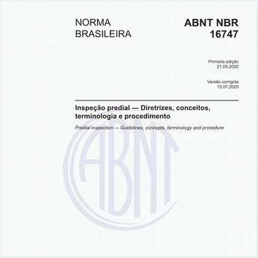 NBR16747 de 05/2020