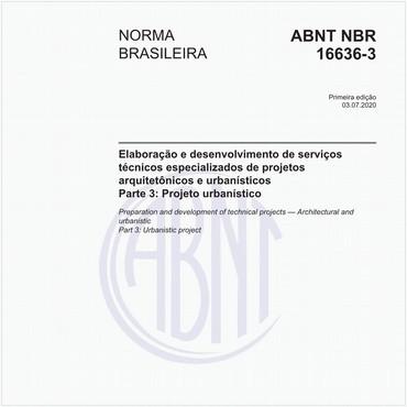 NBR16636-3 de 07/2020