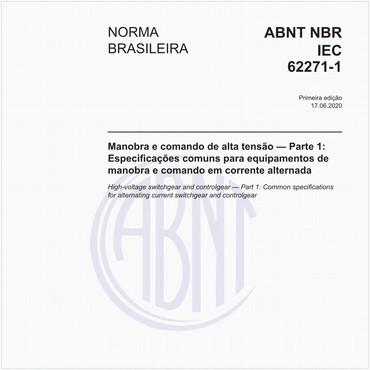 NBRIEC62271-1 de 06/2020