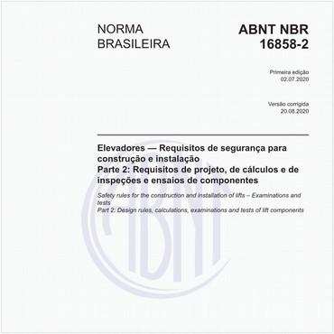 NBR16858-2 de 07/2020