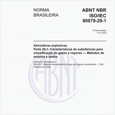 NBRISO/IEC80079-20-1 de 07/2020