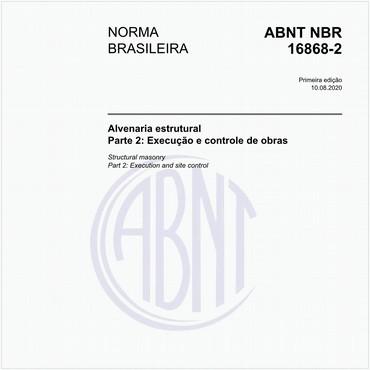 NBR16868-2 de 08/2020