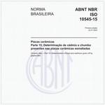 NBRISO10545-15