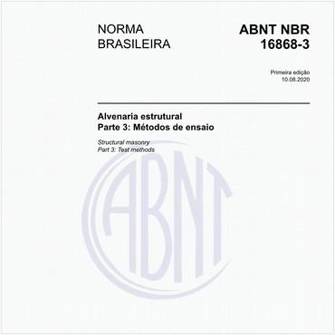 NBR16868-3 de 08/2020