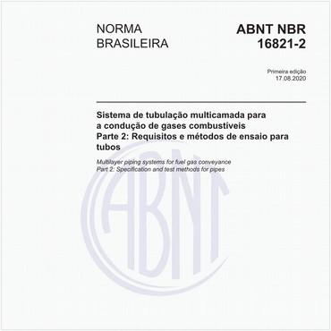 NBR16821-2 de 08/2020