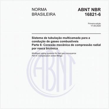 NBR16821-6 de 08/2020