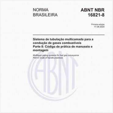 NBR16821-8 de 08/2020