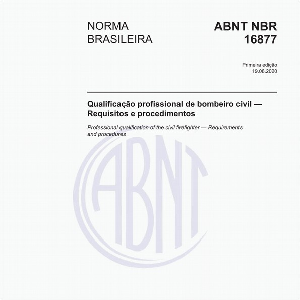 Qualificação profissional de bombeiro civil - Requisitos e procedimentos