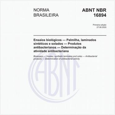 NBR16894 de 08/2020