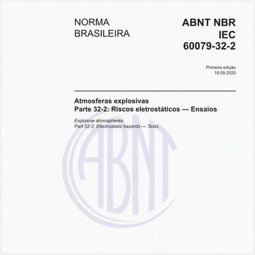 NBRIEC60079-32-2 de 09/2020