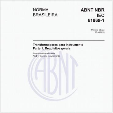 NBRIEC61869-1 de 09/2020