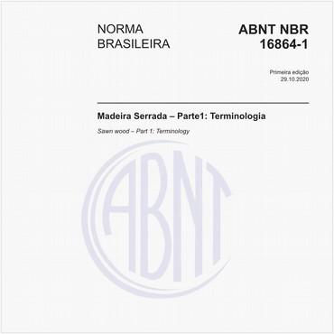 NBR16864-1 de 10/2020